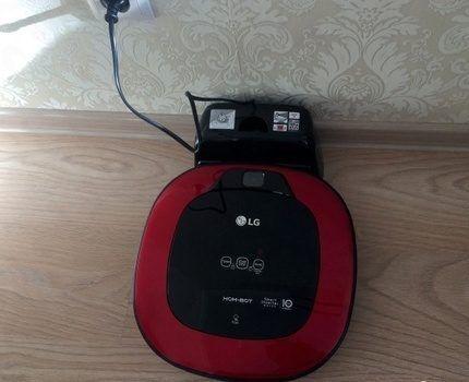 Робот-пылесос LG VRF6043