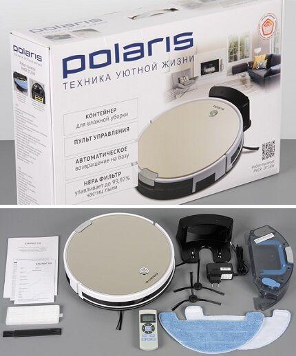 Комплектация Polaris PVC 0726W