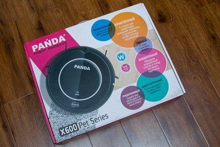 Робот пылесос Панда