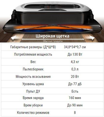 Характеристики VR7070