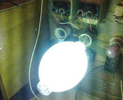 Ртутная лампа Delux