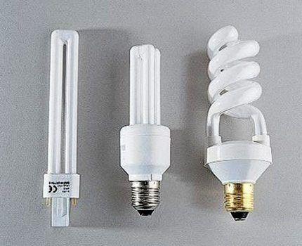 Ртутные лампы низкого давления