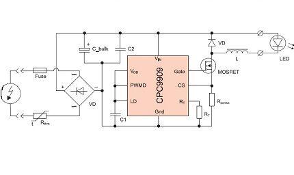 Схема cpc9909
