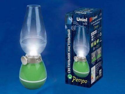 Светильник с диммируемой лампой