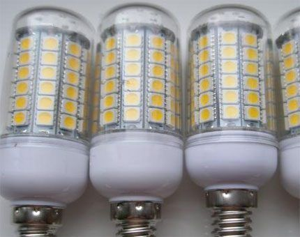 LED lamps from China