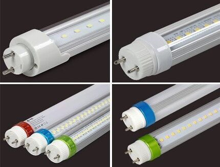 Многообразие светодиодных ламп Т8