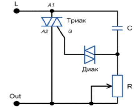 Упрощенная схема димера