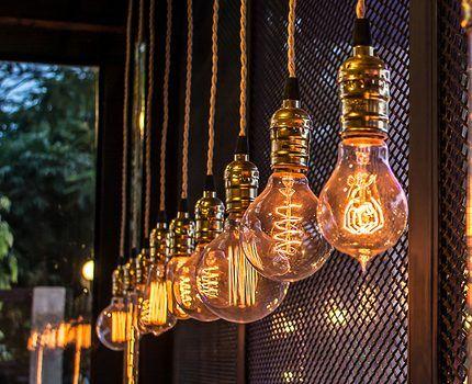 Лампочка с диодами филаментного типа