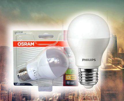 LED-лампы от Phillips