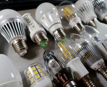 LED-лампы с разными цоколями