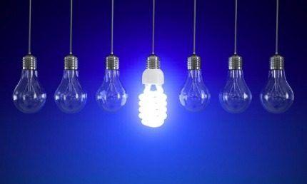 Экономичная люминесцентная лампа