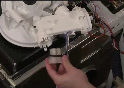 Термодатчики на пластиковом блоке
