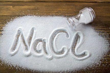 Замена специальной соли на пищевую