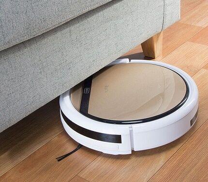 Удобная для уборки под мебелью форма iLife V5s