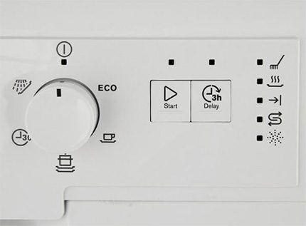 Панель управления Electrolux ESF9423LMW