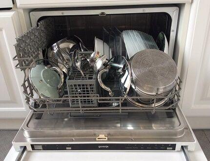 Компактная посудомоечная машина Горенье