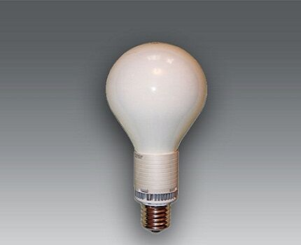 Лампочка в форме шара