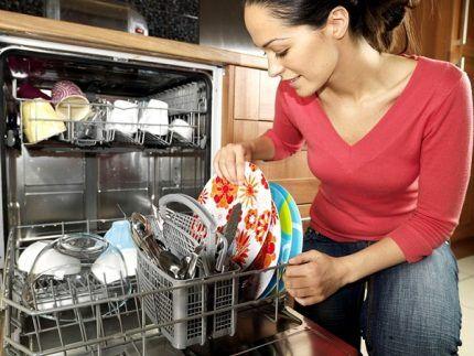 Качество мытья в посудомойке