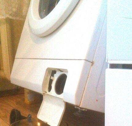 Как лучше слить воду из стиральной машинки