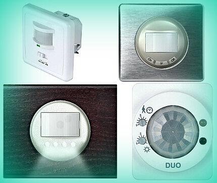 Ассортимент ламп с датчиками