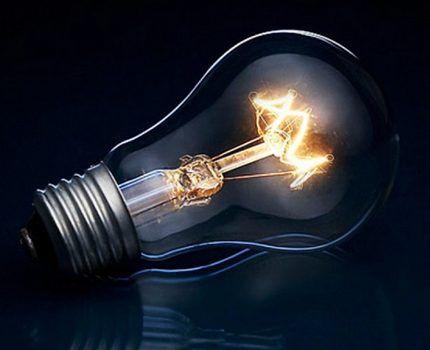 Классическая лампа накаливания