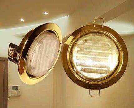 Энергосберегающие лампы для точечных светильников