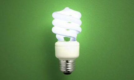 Размер люминесцентных ламп
