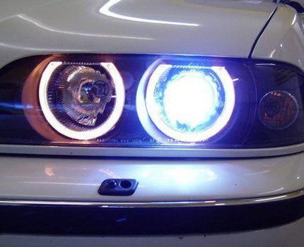 Натриевые лампы в автомобильных фарах