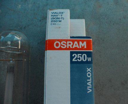 Натриевая лампа Osram