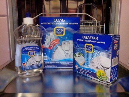 Соль для посудомоечной машины