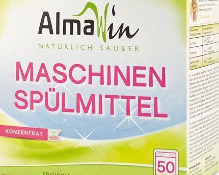 Universal powder for AlmaWin dishwashers