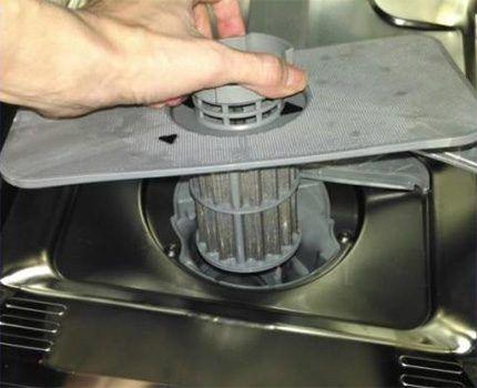 Фильтр посудомоечной машины