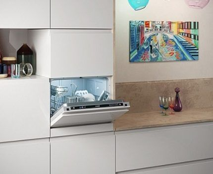 Вариант расположения агрегата в шкафу