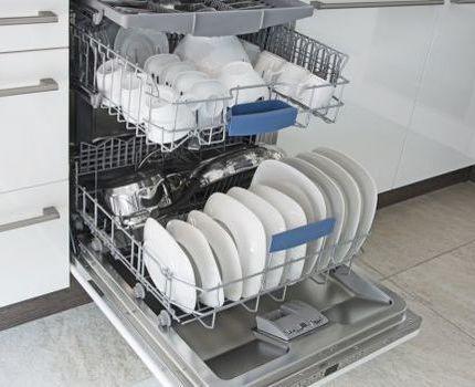 Технические плюсы посудомойки Самсунг