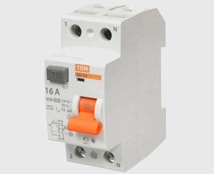 10 mA RCD device