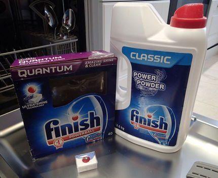 Моющие средства для посудомойки