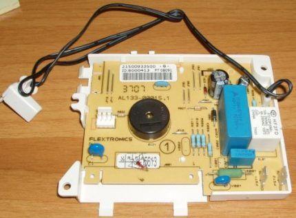 Плата управления посудомойки Электролюкс