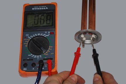 Мультиметр для ремонта посудомоечной машины