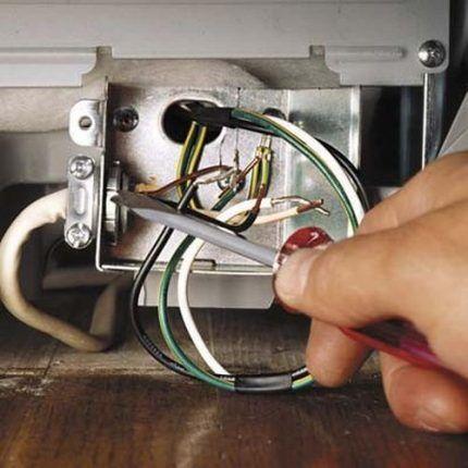 Разборка посудомоечной машины Электролюкс