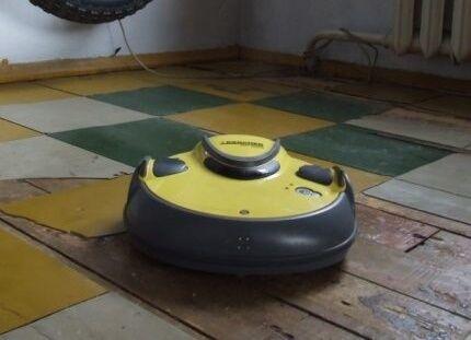 Запрет для работы роботов пылесосов марки Керхер