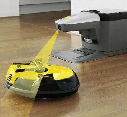 Средства навигации роботизированного пылесоса