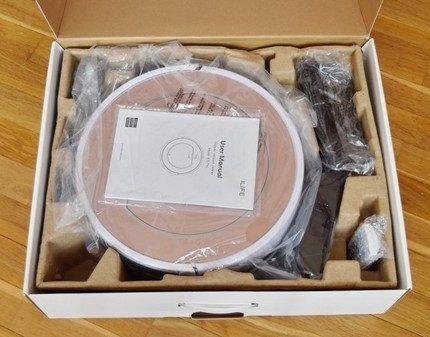 Упаковка робота iLife v7s