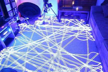 Траектория движения роботизированного пылесоса