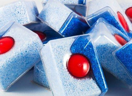Таблетки для посудомойки промышленного производства