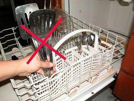 Правильная загрузка посудомойки