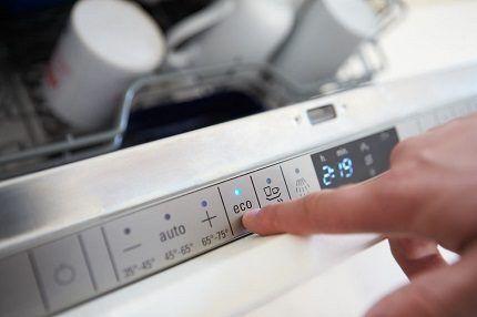 Температурный режим посудомойки