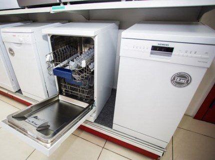 Модели посудомоечных машин различных брендов