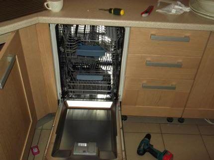 Посадочное место под посудомойку