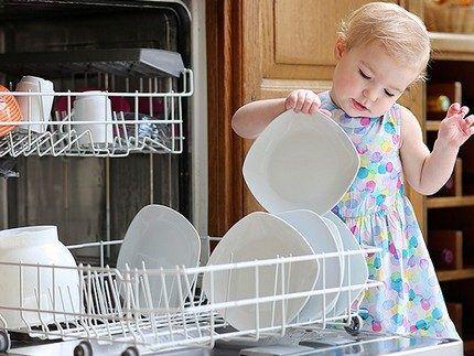 Степень чистоты вымытой посуды