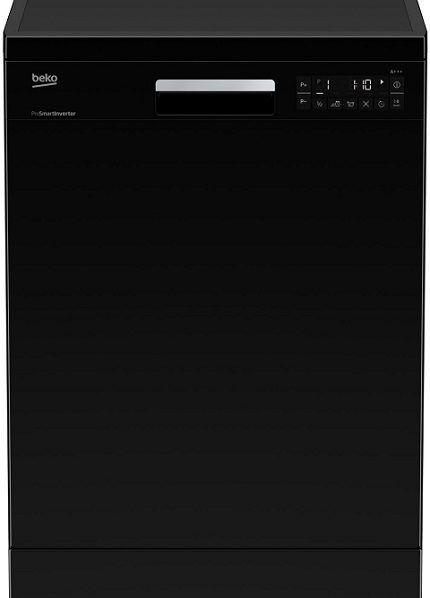 Посудомоечная машина черного цвета